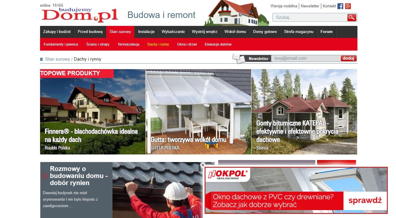 Roczna kampania dla firmy OKPOL