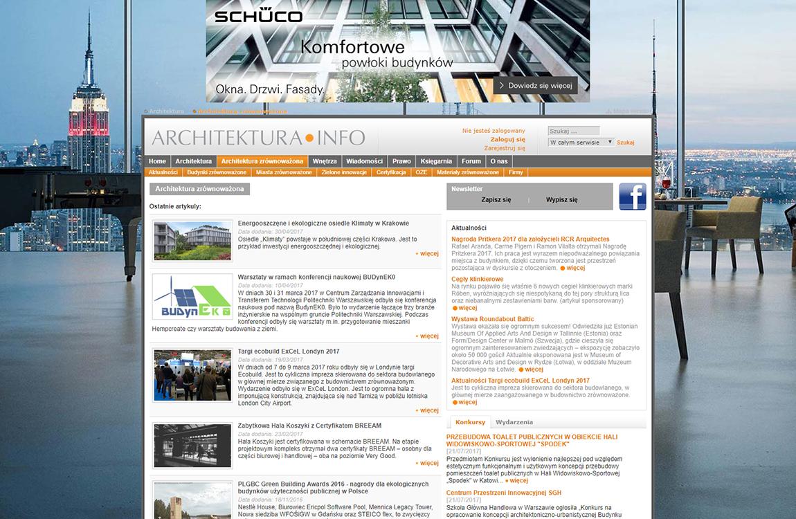 Kampania firmy Schuco