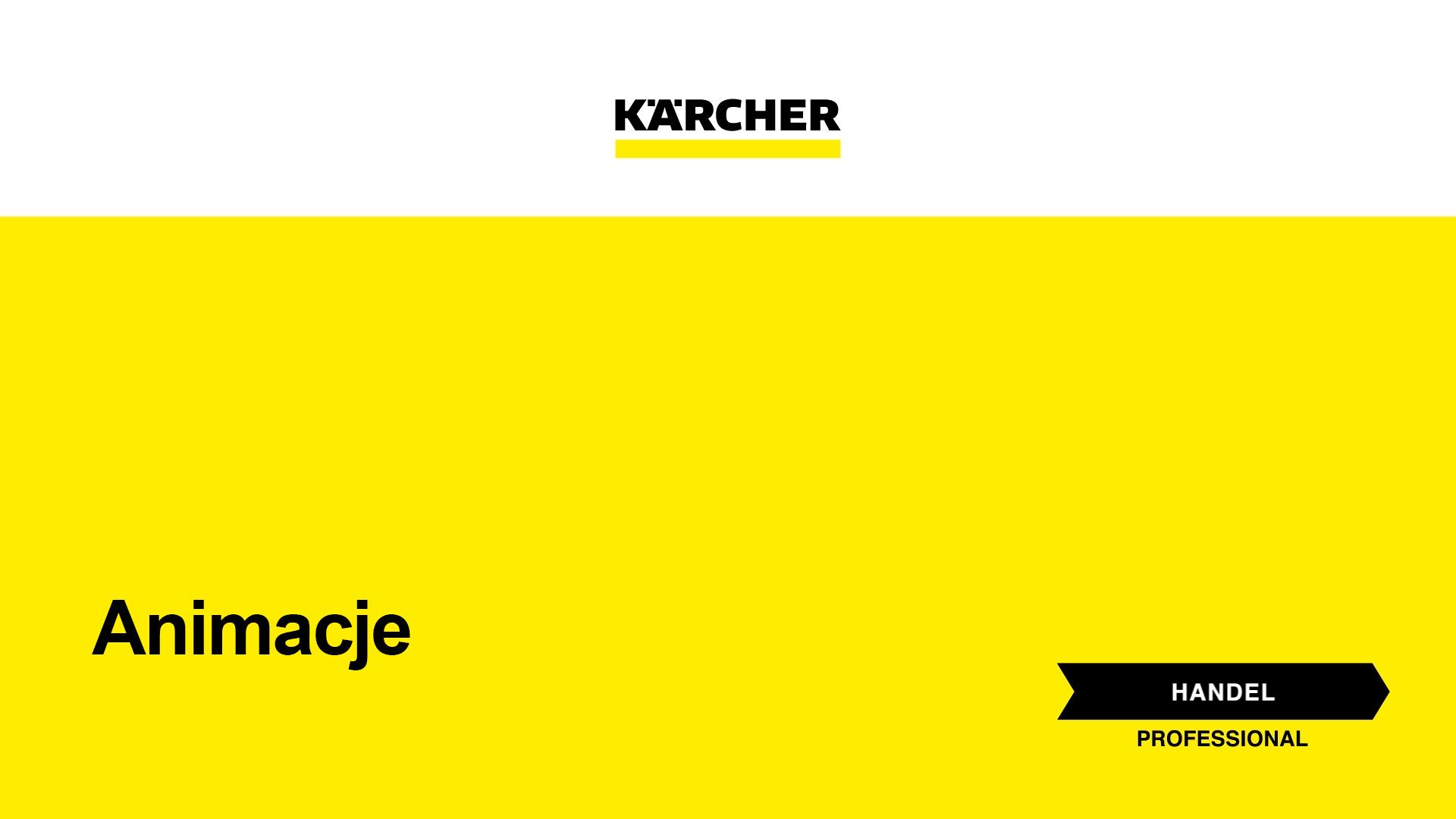Animacje dla firmy Kärcher