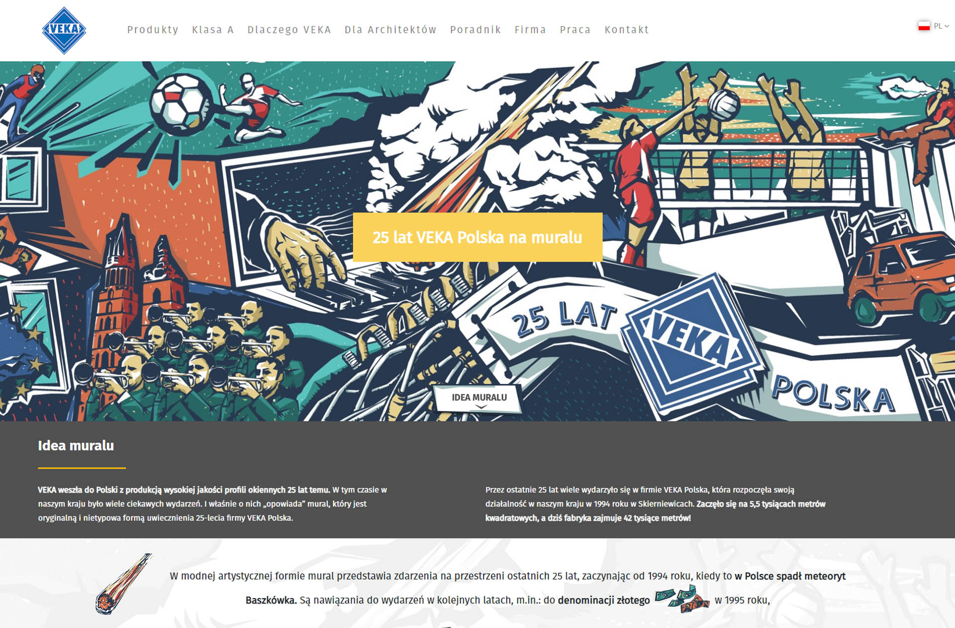 Strona VEKA Mural