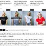 Kampania reklamowa #polishGirl prowadzona przez Cormedia